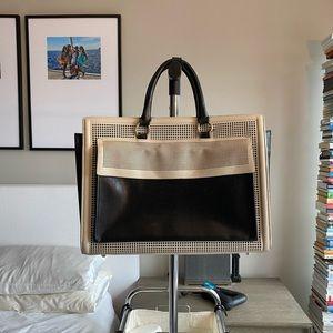 Zara Briefcase Large Handbag Laptop Bag